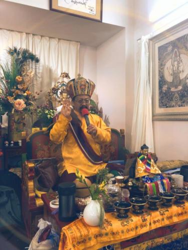 Rinpoche in Hong Kong